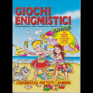 Giochi Enigmistici Junior - n. 74 - bimestrale - agosto - settembre 2020 -