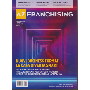 Az Franchising - n. 4 - mensile - aprile 2019 -