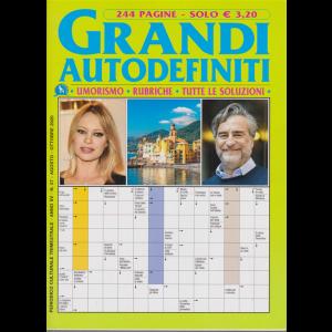 Grandi Autodefiniti - n. 57 - trimestrale - agosto - ottobre 2020 - 244 pagine
