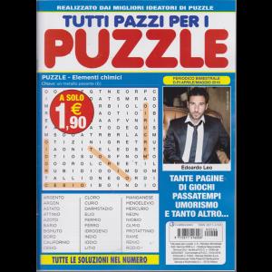 Tutti pazzi per i puzzle - n. 6 - bimestrale - aprile - maggio 2019 -