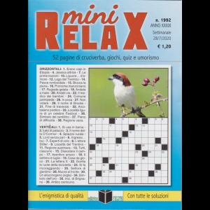 Mini Relax - n. 1992 - settimanale - 28/7/2020