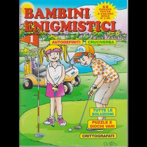 Bambini Enigmistici - n. 103 - bimestrale - maggio - giugno 2019 - 52 pagine tutte a colori