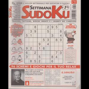 Settimana Sudoku - n. 781 - settimanale - 31 luglio 2020