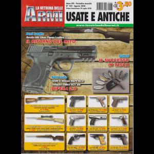 La vetrina delle armi usate e antiche - n. 183 - agosto 2020 - mensile