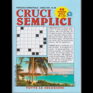 Cruci Semplici - n. 98 - bimestrale - settembre - ottobre 2020 - 68 pagine