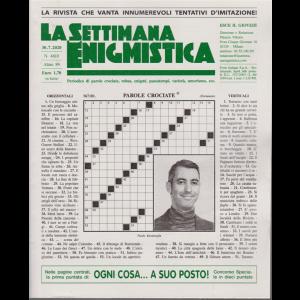 La Settimana Enigmistica - n. 4610 - 30/7/2020 - settimanale