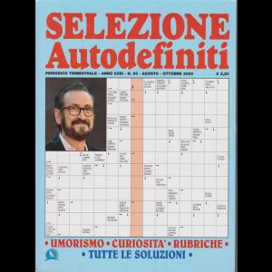 Selezione Autodefiniti - n. 93 - trimestrale - agosto - ottobre 2020 -