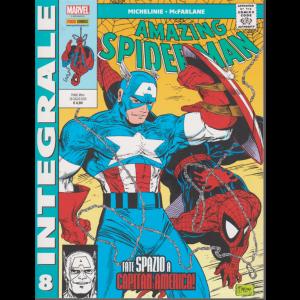 Marvel Integrale - Spider man 8 - Fate spazio a Capitan America! - mensile - 30 luglio 2020 -