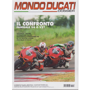Mondo Ducati   Dossier - n. 109 - bimestrale - agosto - settembre 2020