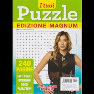 I Tuoi Puzzle - Edizione Masgnum - n. 4 - trimestrale - agosto - settembre - ottobre 2020 - 240 pagine