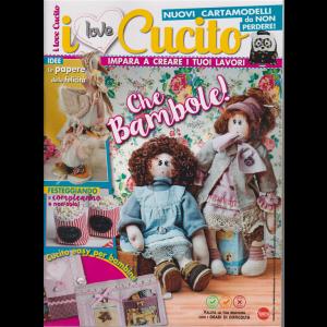 I love cucito - n. 28 - bimestrale - aprile . maggio 2019 -