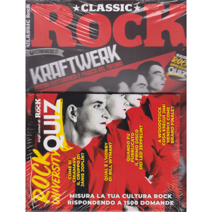 Classic Rock - n. 93 - mensile - 24/7/2020 - + il libro Rock university quiz -