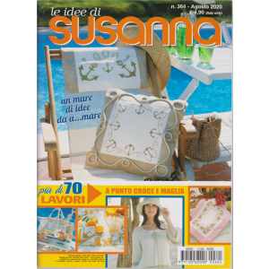 Le idee di Susanna - n. 364 - agosto 2020 - mensile