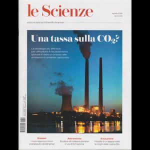 Le Scienze - Una tassa sulla Co2? - n. 624 - mensile 1 agosto 2020