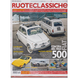 Ruoteclassiche + Ruoteclassiche Gran Turismo - Dimore storiche - n. 380 - mensile - agosto 2020 - 2 riviste
