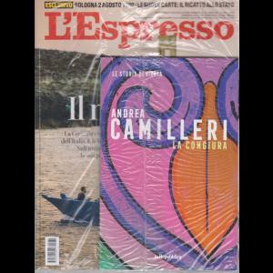 L'espresso - + Le storie di Vigata - La congiura- Andrea Camilleri - n. 32 - settimanale - 2 agosto 2020 - rivista + libro