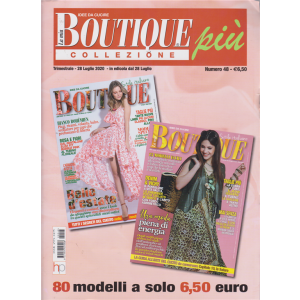 La mia boutique più collezione - n. 48 - trimestrale - 28 luglio 2020 -