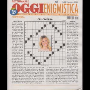 Settimanale Oggi Enigmistica - n. 32 - 11 agosto 2020 -
