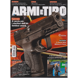 Armi e Tiro - n. 8 - mensile - agosto 2020