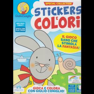 Giulio Coniglio - Stickers e colori - n. 8 - agosto - settembre 2020 - bimestrale -