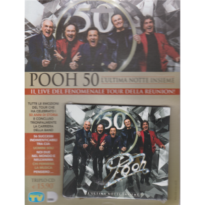 Cd Sorrisi Speciale - Pooh - L'ultima Notte insieme - n. 9 - 4/8/2020 - settimanale - triplo cd