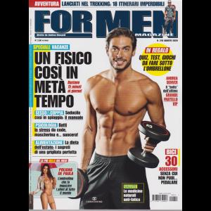 For Men Magazine - n. 210 - agosto 2020 - mensile