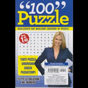 100 Puzzle - n. 14 - bimestrale - agosto - settembre 2020