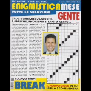 Enigmistica Mese Gente - n. 8 - 5 agosto 2020 - 100 pagine