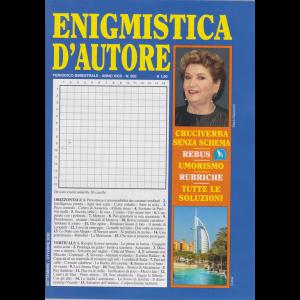 Enigmistica d'autore - n. 202 - bimestrale - settembre - ottobre 2020