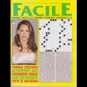 Facile - n. 91 - bimestrale - settembre - ottobre 2020 - 100 pagine
