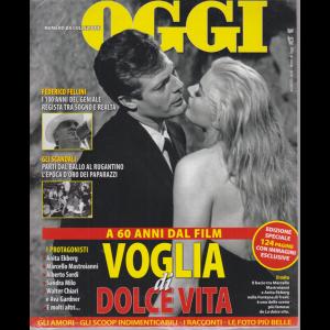 Nomi di Oggi - Numero da collezione - A 60 anni dal film Voglia di dolce vita - edizione speciale - 124 pagine