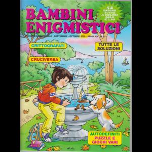 Bambini Enigmistici - n. 111 - bimestrale - settembre - ottobre 2020 - 52 pagine tutte a colori