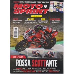 Motosprint - n. 31 - 4/10 agosto 2020 - settimanale