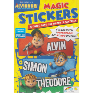 Alvin Magic Stickers - n. 7 - agosto - settembre 2020 - bimestrale