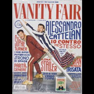 Vanity Fair  + Vanity Fair design - n. 15 - settimanale - 17 aprile 2019 - 2 riviste