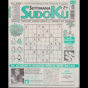 Settimana sudoku - n. 782 - settimanale -7 agosto 2020