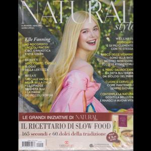 Natural Style + il libro Cucina slow - Secondi e dolci - n. 206 - mensile - agosto 2020 - rivista + libro