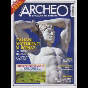 Archeo - n. 426 - 8 agosto 2020 - mensile