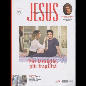 Jesus - n. 8 - agosto 2020 - mensile