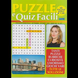 Puzzle E Quiz Facili - bimestrale n. 277 Settembre 2020