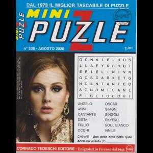 Minipuzzle - n. 538 - agosto 2020 - mensile