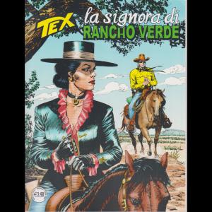 Tex - La signora di Rancho verde - n. 718 - mensile - agosto 2020