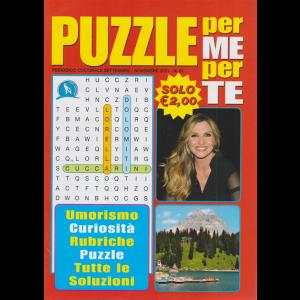 Puzzle per me per te - n. 81 - settembre - novembre 2020 -