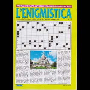 L'enigmistica - n. 115 - bimestrale - maggio - giugno 2019 -