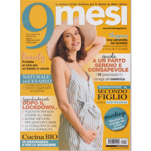 9 Mesi - n. 159 - bimestrale - agosto - settembre 2020 -