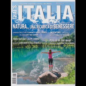 That's Italia - n. 37 - agosto - settembre 2020 - bimestrale -