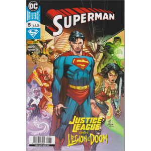 Superman -n. 5 - Justice league contro legion of Doom - quindicinale - 6 agosto 2020
