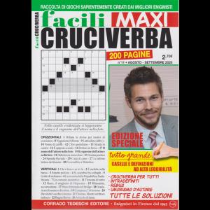 Facili Cruciverba Maxi - n. 11 - agosto - settembre 2020 - 200 pagine