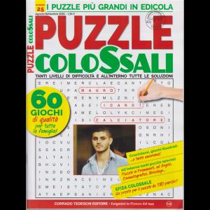 Puzzle Colossali - n. 25 - agosto - settembre 2020 - bimestrale