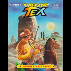 Tex Color - Gli amanti del Rio Grande - n. 17 - agosto 2020- semestrale - 160 pagine!